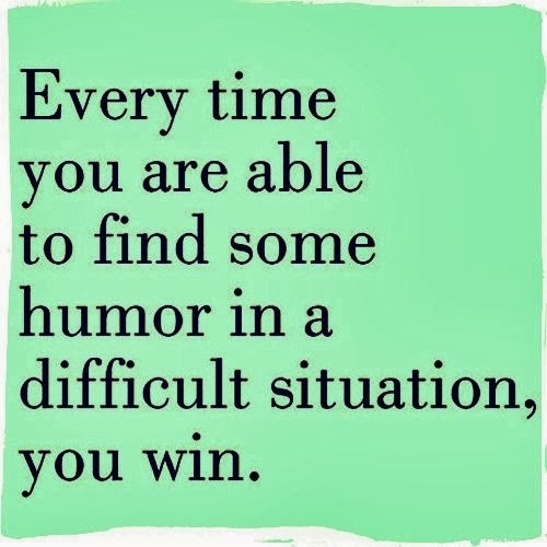 The search for humor in adversity